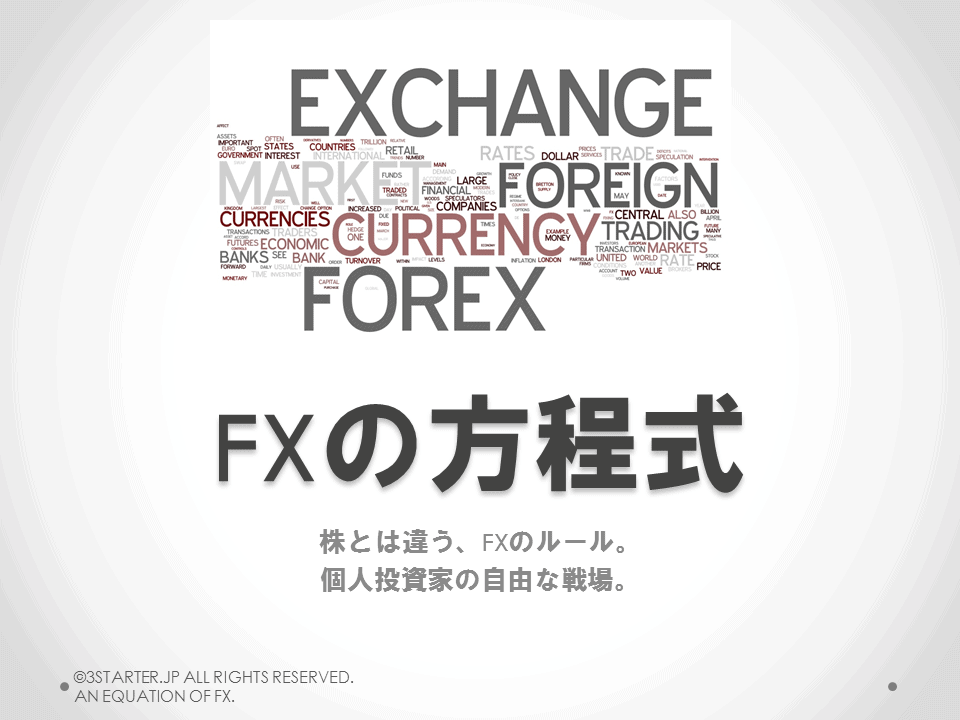 FXの方程式