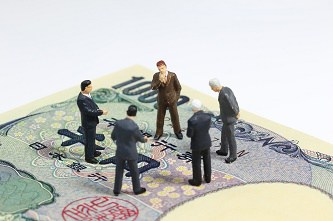 千円札の図