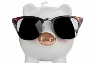 豚貯金箱画像